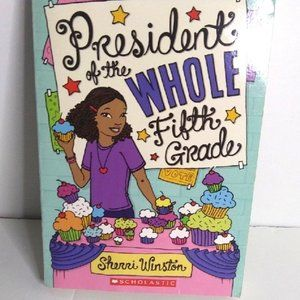Girl book of President of the Whole fifth grader